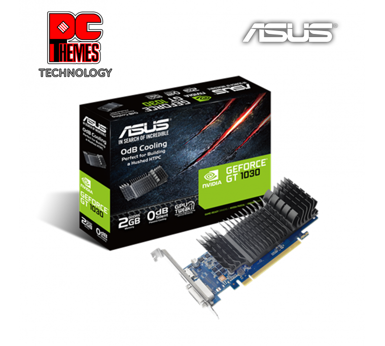 ASUS GT 1030 2GB DDR5 Low Profile Graphics Card
