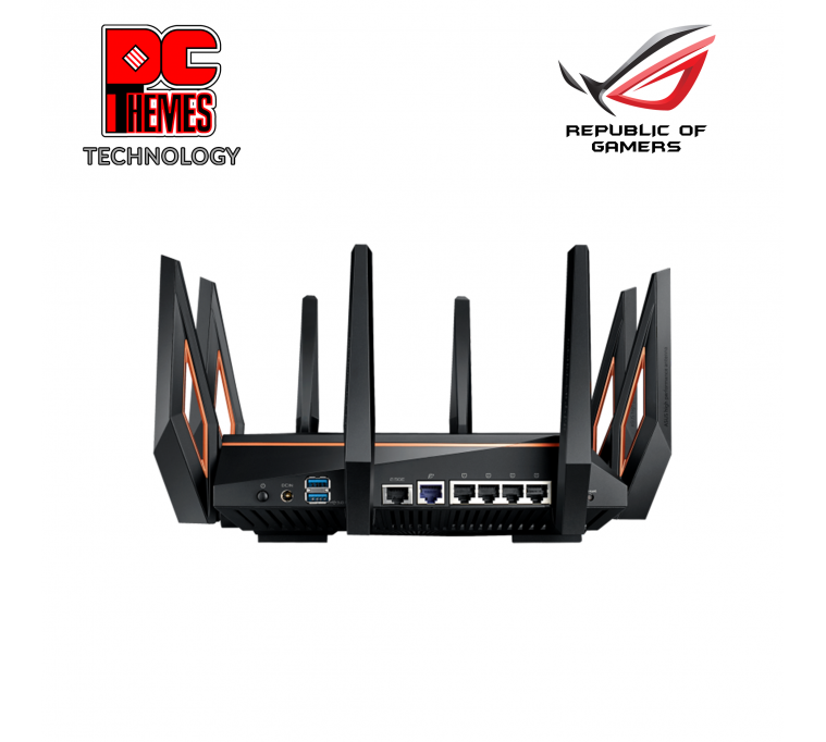 ASUS ROG Rapture GT-AX11000 Tri-band WiFi 6 Gaming Router